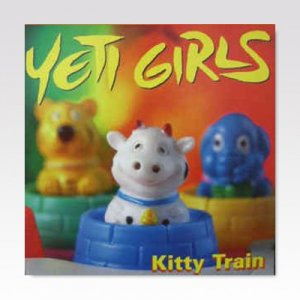 YETI GIRLS / KITTY TRAIN / LP [USED]
