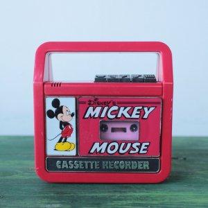 MICKEY MOUSE カセットプレイヤー & レコーダー [uesd]