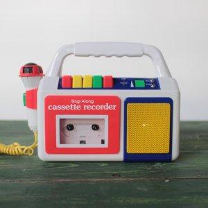 SING-ALONG カセットプレイヤー & レコーダー [uesd]
