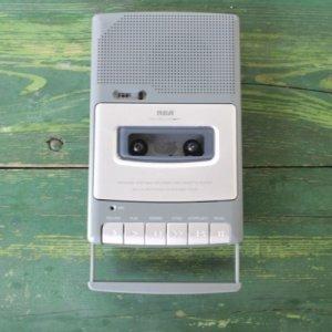 RCA ポータブル カセットプレイヤー & レコーダー [uesd]