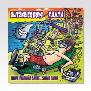 BLITZKRIEG BOYS:F.A.N.T.A / SPLIT / CD