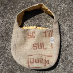 Dungarees Bag ドンゴロスバッグ 0031 【1点ものコーヒー豆麻袋を使ったトートバッグ】