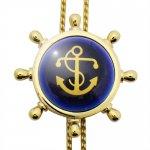 Swank & Royal Copenhagen スワンク & ロイヤルコペンハーゲン コラボ イカリ ゴールド【ループタイ ネックレス】ポーラータイ ポロタイ ボロタイ