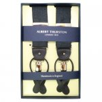 ALBERT THURSTON アルバートサーストン サスペンダー バンブーブラック<img class='new_mark_img2' src='https://img.shop-pro.jp/img/new/icons10.gif' style='border:none;display:inline;margin:0px;padding:0px;width:auto;' />