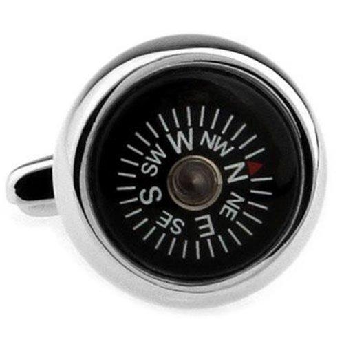 コンパス 方位磁針 磁石 カフス