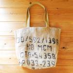 Dungarees Bag ドンゴロスバッグ 0011 【1点ものコーヒー豆麻袋を使ったトートバッグ】<img class='new_mark_img2' src='https://img.shop-pro.jp/img/new/icons7.gif' style='border:none;display:inline;margin:0px;padding:0px;width:auto;' />