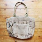 Dungarees Bag ドンゴロスバッグ 0016 【1点ものコーヒー豆麻袋を使ったトートバッグ】<img class='new_mark_img2' src='https://img.shop-pro.jp/img/new/icons7.gif' style='border:none;display:inline;margin:0px;padding:0px;width:auto;' />