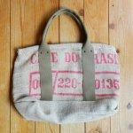 Dungarees Bag ドンゴロスバッグ 0024 【1点ものコーヒー豆麻袋を使ったトートバッグ】