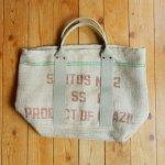 Dungarees Bag ドンゴロスバッグ 0026 【1点ものコーヒー豆麻袋を使ったトートバッグ】