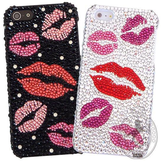 c7ea7bffcc iPhoneケース スマホケース 全機種対応 スワロフスキーデコレーション リップマーク 口紅 キスマーク カワイイ おしゃれ 人気 おすすめ |  スマートフォン ケース・ ...