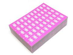 1−50付くじ紙ピンク 【単価¥21】100入
