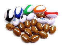 【現品限り】PUラグビーボールアソート 【単価¥24】25入
