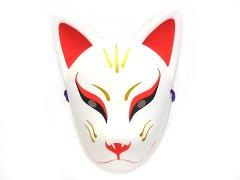 民芸品お面 天狐 (パッケージ入り) 【単価¥600】1入