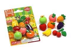 ブリスターパック消しゴム〜果物〜 【単価¥197】10入