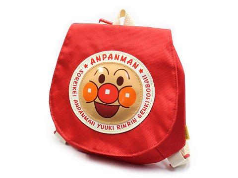 かぶせリュックアンパンマン 赤ANS−2700 【単価¥1620】1入