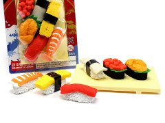 ブリスターパック消しゴム〜お寿司〜 【単価¥197】10入