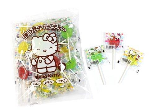 【お買い得】ハローキティ棒つきキャンディー  【単価¥258】310g 1入
