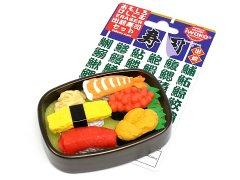 ブリスターパック消しゴム43種〜出前寿司セット 【単価¥197】10入