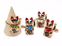 招き猫リング 【単価¥169】24入