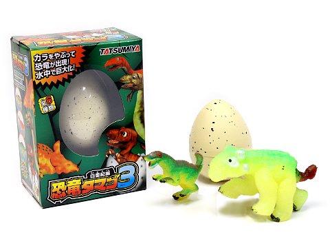 ウォーターブローイング恐竜タマゴ3 【単価¥169】12入