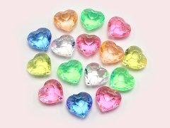 ジュエルアイス 蛍光クリアダイヤモンドハート KIS62668 【単価¥1000】1入 い13