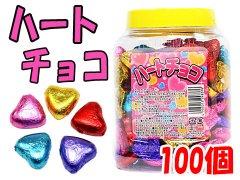 ハートチョコ 100個 【単価¥730】1入