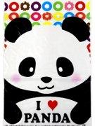 綿菓子袋(ロップ) パンダ透明 【単価¥25】100入