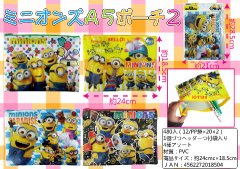 【お買い得】ミニオンズA5ポーチ2 【単価¥51】12入