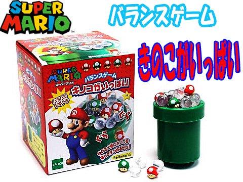 スーパーマリオ キノコがいっぱい 【単価¥420】1入