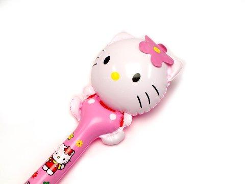 ビニール棒 花キティ 【単価¥330】20入