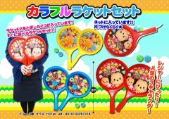ディズニーツムツム カラフルラケットセット  2038【単価¥231】12入