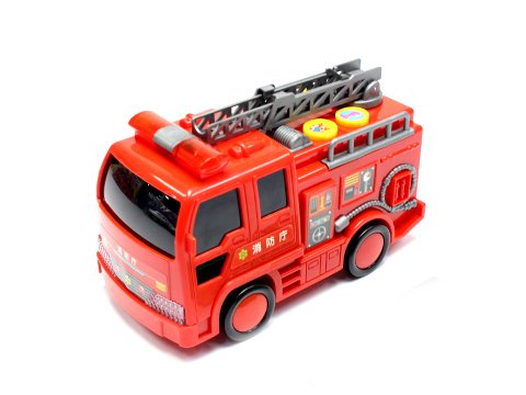 おしゃべりピカピカ消防車 【単価¥538】1入