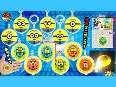 ミニオンズ 丸ライトキーホルダー【単価¥22】25入