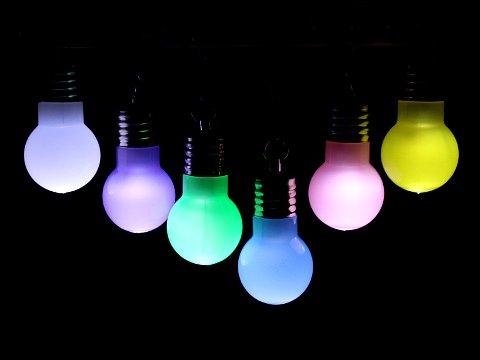 光る電球ペンダント 【単価¥32】25入