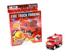 世界の消防車ブロック 【単価¥113】12入