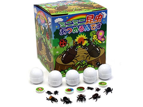 ミニミニ昆虫あつめるんです 60付 【単価¥1950】1入