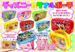 ディズニーカラフルポーチ 2548 【単価¥65】12入