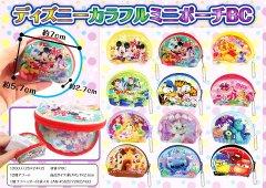 ディズニーカラフルミニポーチBC【単価¥33】25入
