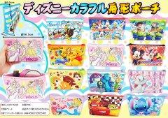 ディズニーカラフル舟形ポーチ【単価¥95】12入