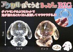 【現品限り・お買い得】アクリル ぽてうさろっぴーBIG2種 【単価¥250】2入