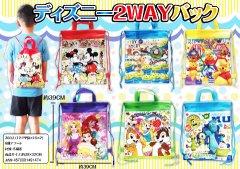 【現品限り・お買い得】ディズニー2WAYバック 【単価¥65】12入