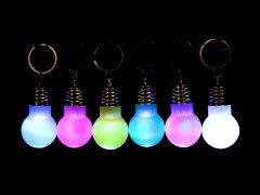 LED電球キーホルダー【単価¥31】25入