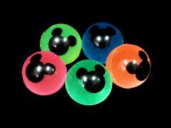 スーパーボール 27ミリ 夜光マウス 【単価¥11】100入