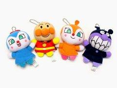 アンパンマン ふわふわ指人形 4種 【単価¥408】6入