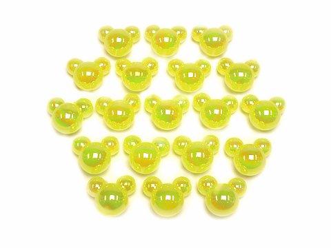 アクリルアイス マウス イエローパール 506−592 【単価¥900】1入