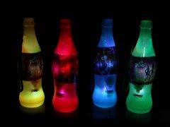 光るコーラボトル 【単価¥117】12入
