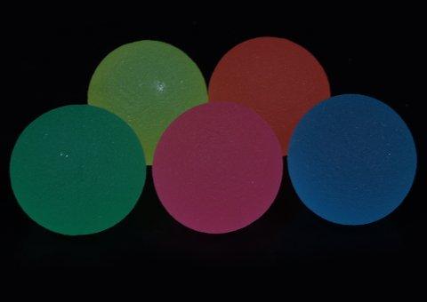 スーパーボール27mm 蓄光カラー 【単価¥8.7】100入