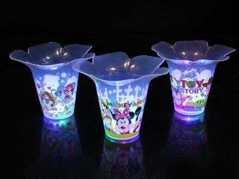 ディズニー 光るフラワーカップ 【単価¥69】12入
