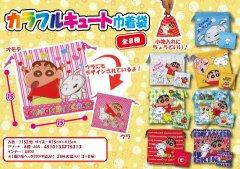 【お買い得】クレヨンしんちゃん カラフルキュート巾着袋 2838 【単価¥29】24入