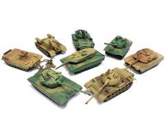 【お買い得】立体モデル戦車8種アソート206−812 【単価¥56】8入